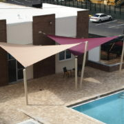 Custom Sail Shade Structure