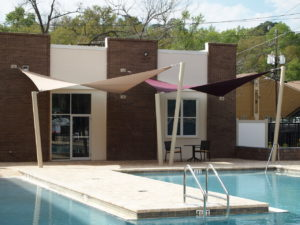 custom commercial sail shade structure 12