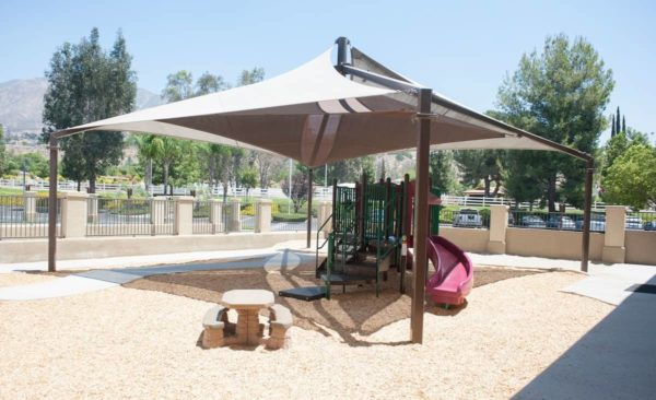 custom commercial sail shade structure 5