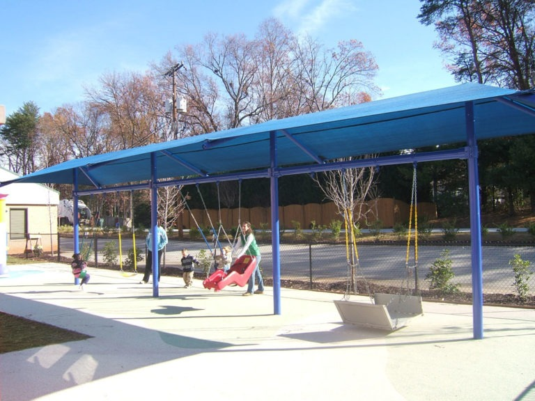 custom commercial shade structure 1