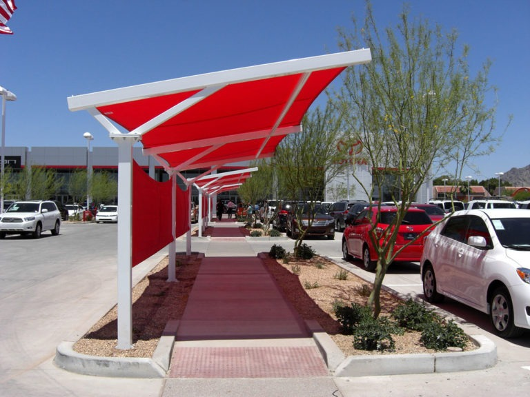 custom commercial shade structure 4