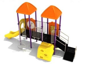 des moines commercial playground structure 1