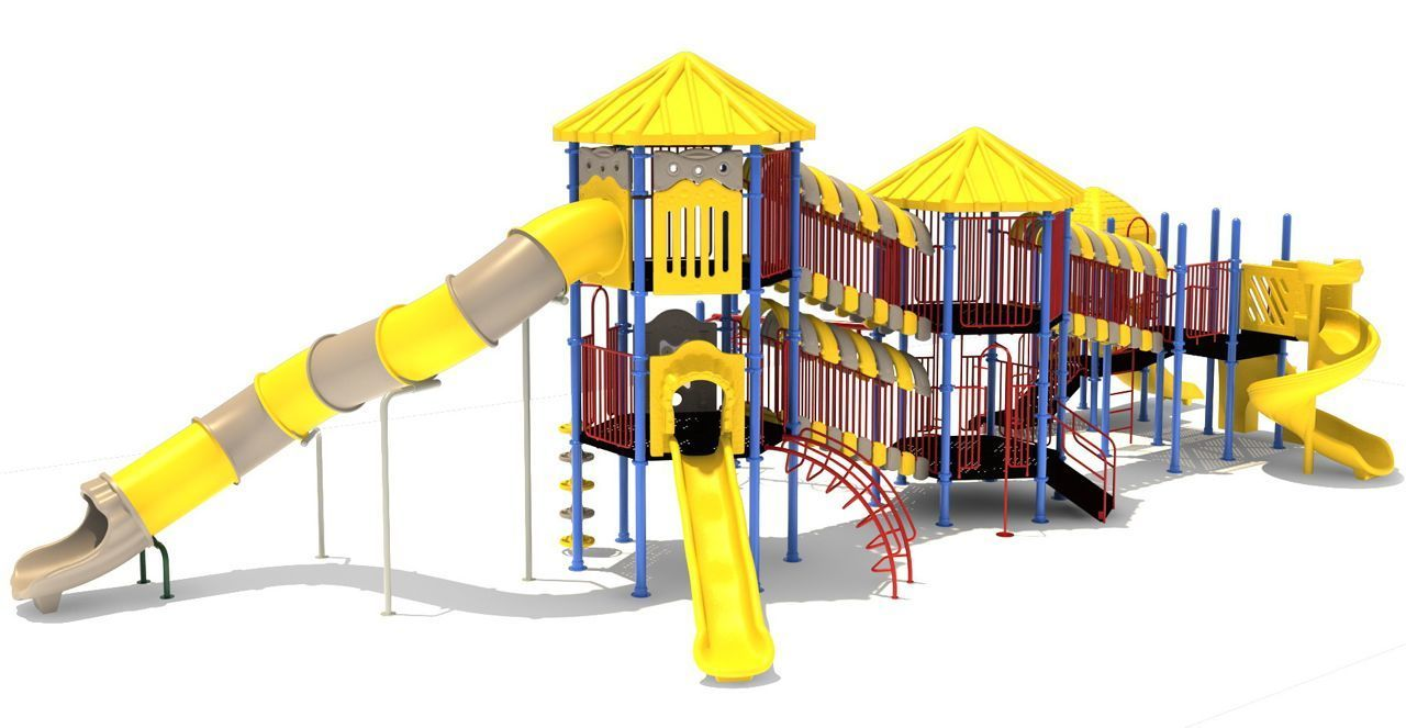 double decker commercial playground 1