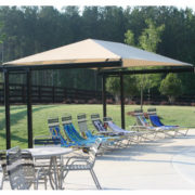 Dual Column Cantilever Shade Structure