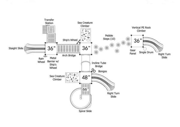 eau claire commercial playground structure 3