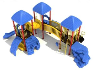 evans commercial play structure 1