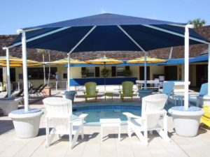 hexagon commercial shade structure 1