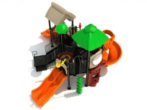 kicking kangaroo commercial play structure 1