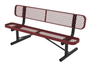 l series bench with back portable