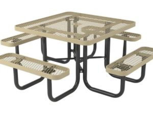 l series square picnic table