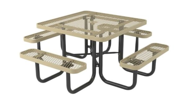 l series square picnic table