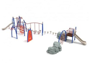 lawndale commercial playground structure 1