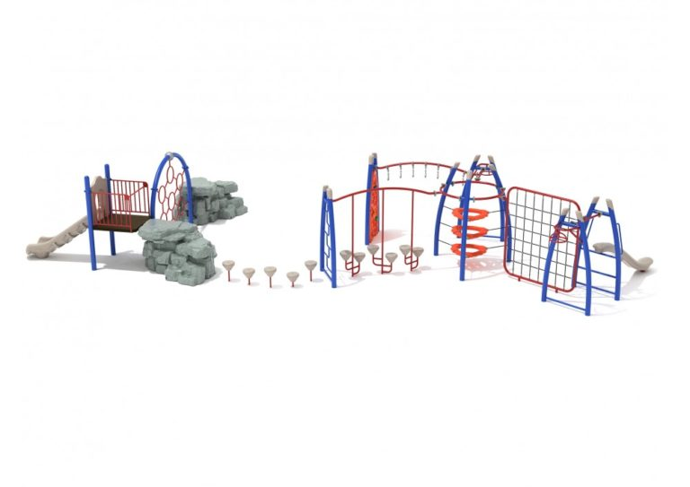 lawndale commercial playground structure 2