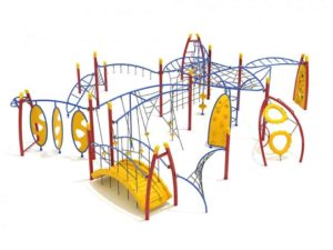 lock haven commercial playground structure 1
