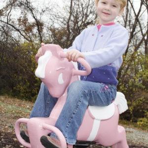 Pink Pony Spring Rider