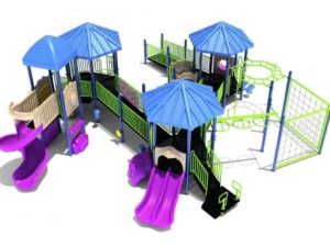 quaker mill commercial play structure 1