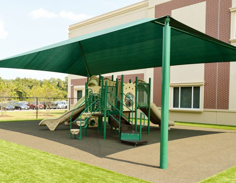 rectangle commercial shade structure 1