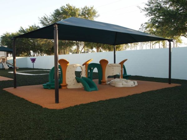 rectangle commercial shade structure 10