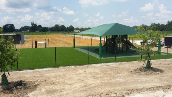 rectangle commercial shade structure 2