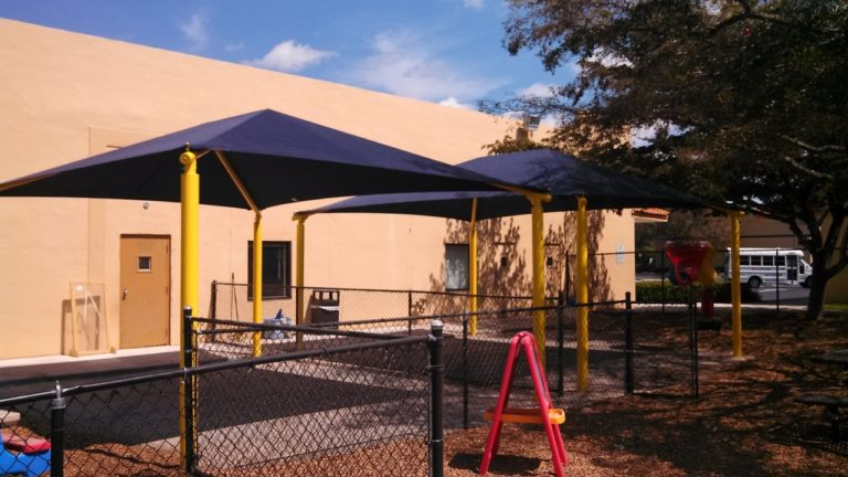 rectangle commercial shade structure 4