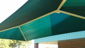 rectangle commercial shade structure 6