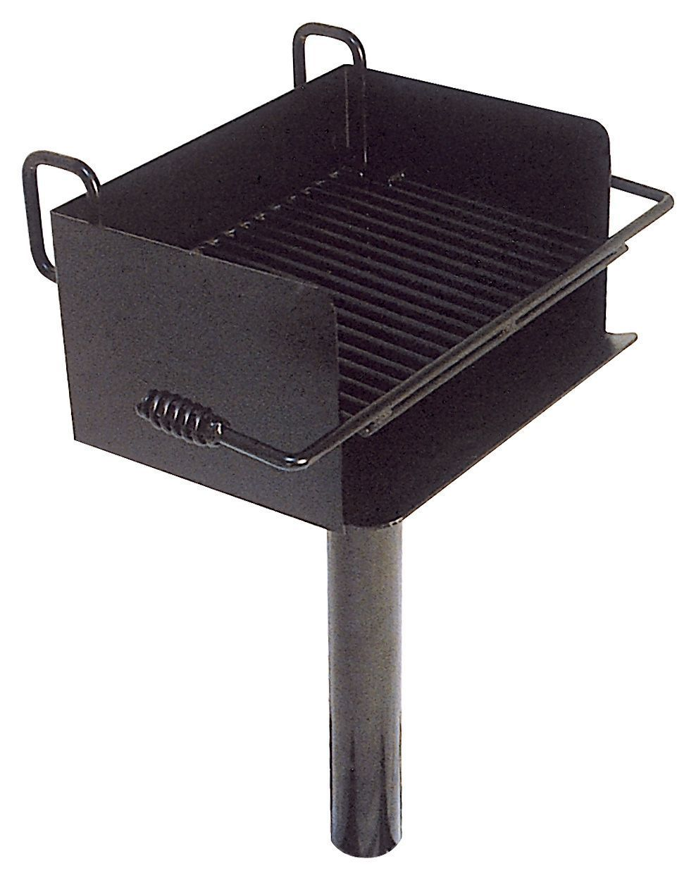 rotating campfire charcoal grill