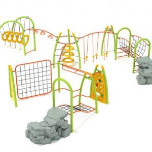 Silver Star Playground Structure