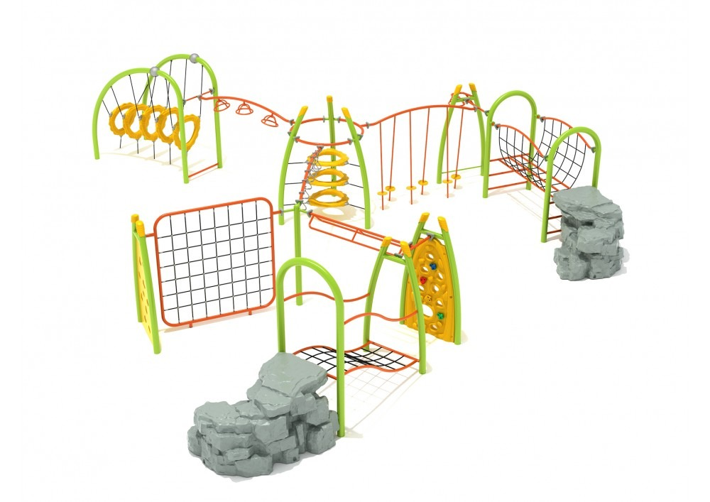 silver star commercial playground structure 1
