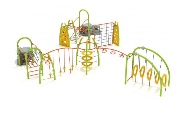 silver star commercial playground structure 2