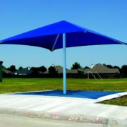 Single Column Square Shade Structure