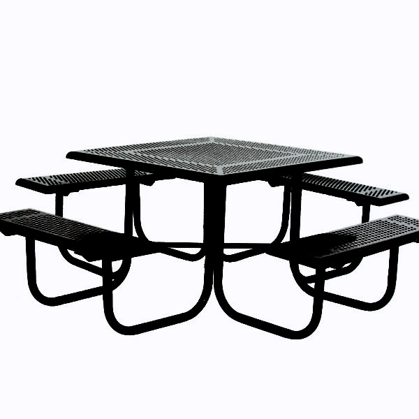 Square Picnic Table 1 5 8 Quot Pro Playgrounds The Play