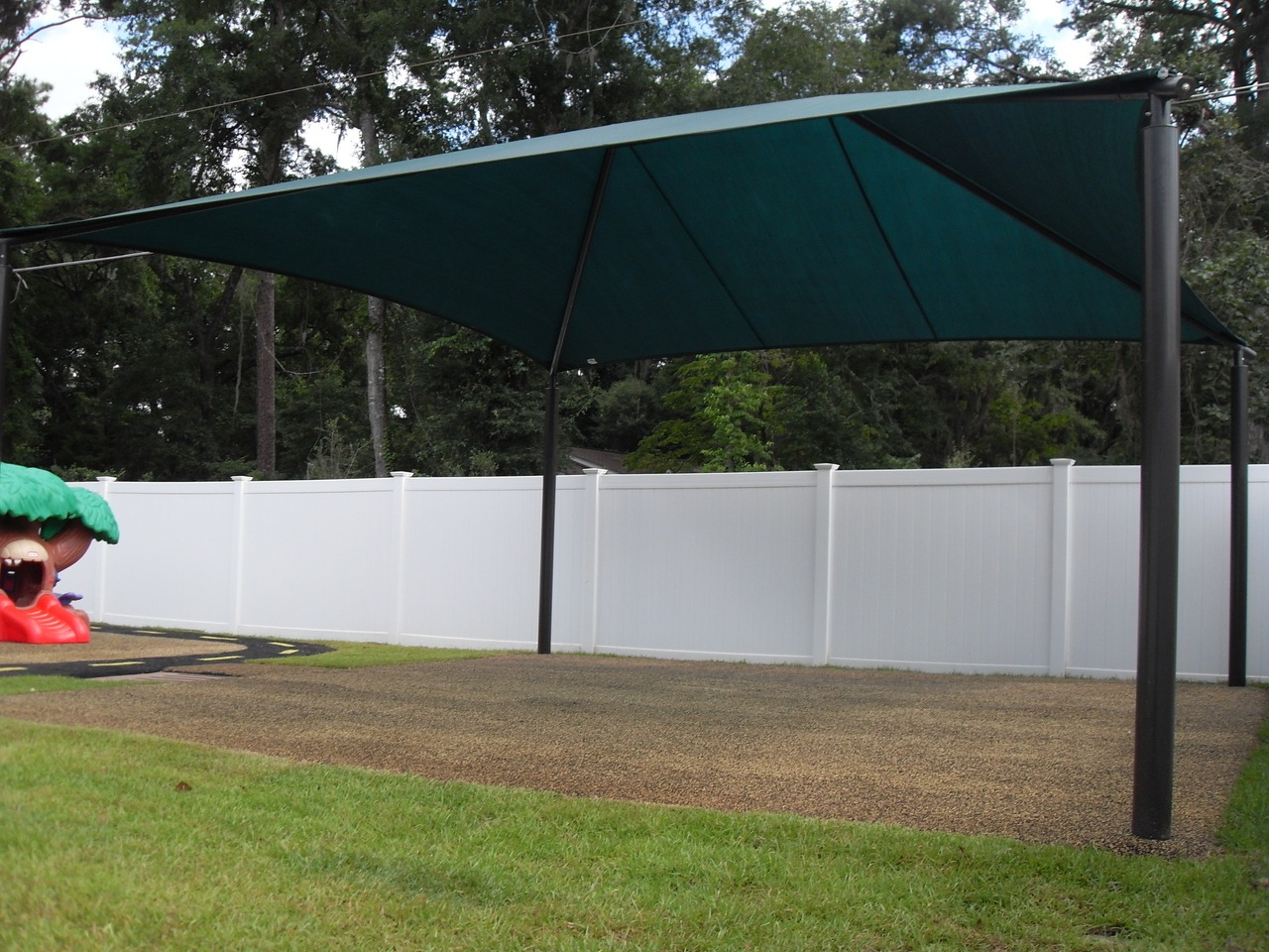 square commercial shade structure 1