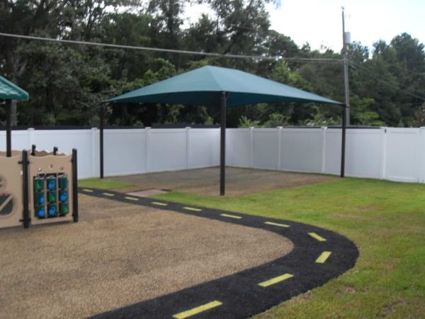square commercial shade structure 5
