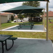 Square Shade Structure