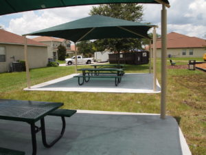 square commercial shade structure 6