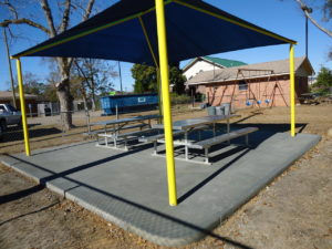 square commercial shade structure 8