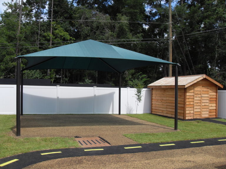 square commercial shade structure 9