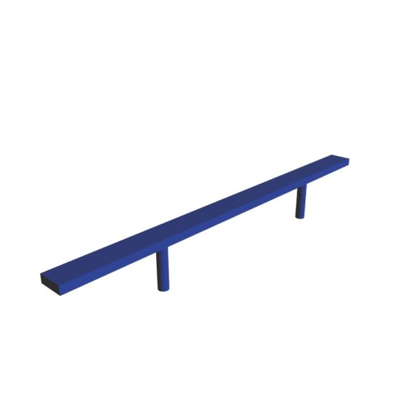 straight balance beam commercial climber 1