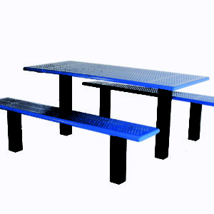 Straight Post Picnic Table