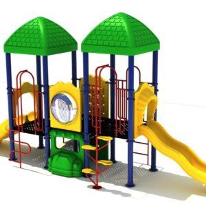 Summer Sunset Playground