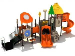 tulip towers commercial playground structure 1