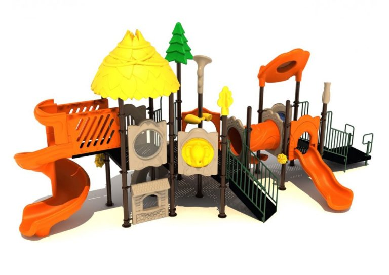 tulip towers commercial playground structure 3