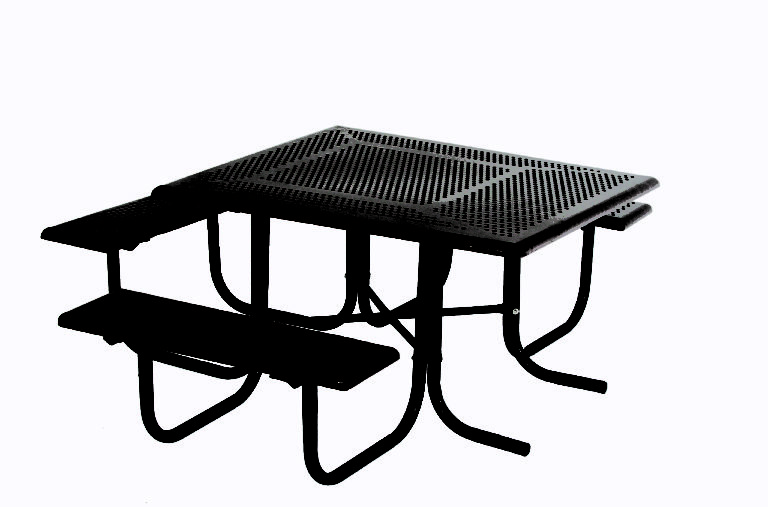 wheelchair accessible ada commercial square picnic table 1