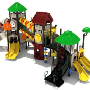Wicked Wombats Play Structure