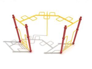 90 degree snake loop commercial ladder 1