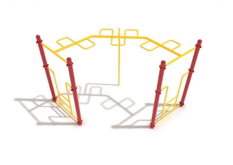 90 degree snake loop commercial ladder 1