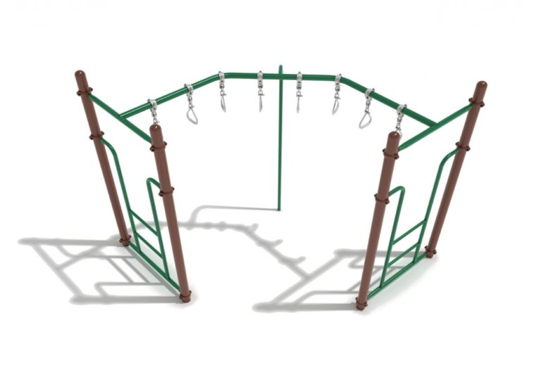 90 degree swinging ring commercial ladder 1