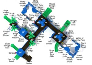 amazing antelope commercial playground system 3