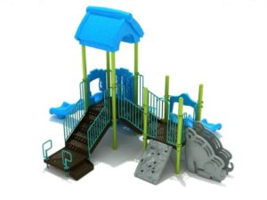 bouncing bobcat commercial playground system 1