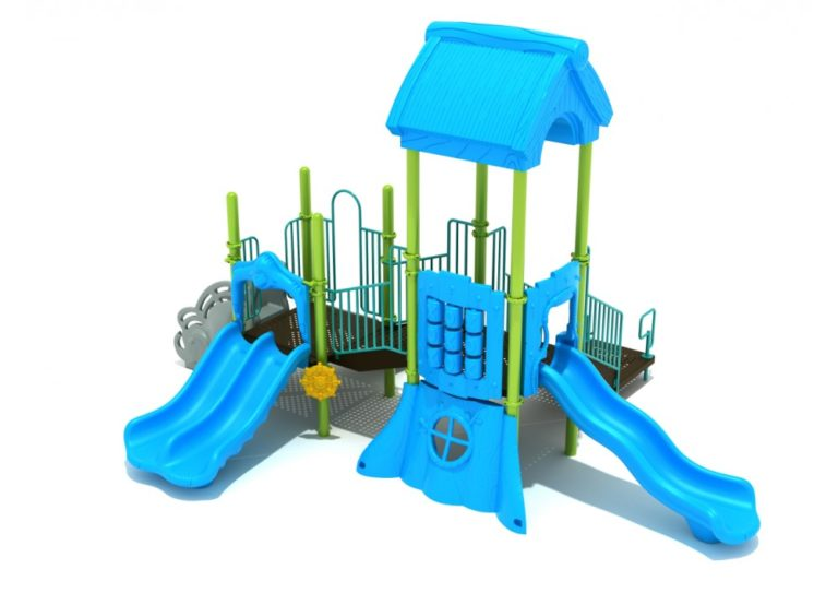 bouncing bobcat commercial playground system 2